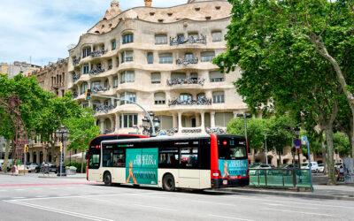 Os presentamos la campaña de Grupo Promedios en los autobuses de TMB de Barcelona.