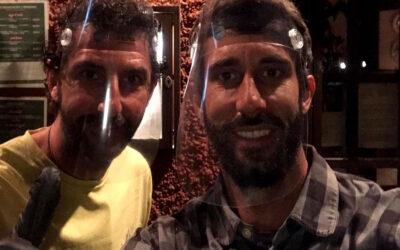 Desde la pizzería Don Blasco de Valencia nos agradecen el envío de pantallas protectoras.
