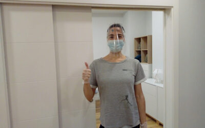 Desde SIRN, Centro de  Rehabilitación Neurológica de Getxo, nos dan las gracias por las pantallas protectoras que les enviamos.