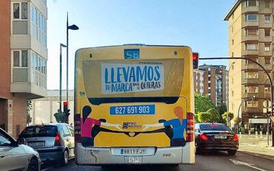 Os presentamos la campaña de Grupo Promedios en los autobuses urbanos de Vitoria.