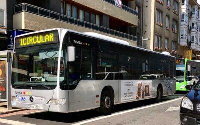 Engel & Völkers Vitoria-Gasteiz ha sacado a la calle su campaña de marca en autobuses urbanos